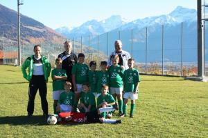 Sektion Fussball des ASC Laas, U10 grün.
