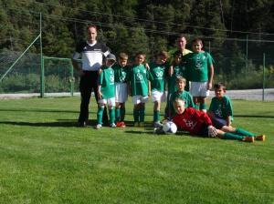Sektion Fussball des ASC Laas, U10 weiß.