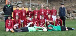 Sektion Fussball des ASC Laas, U12.