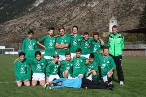Sektion Fussball des ASC Laas, U13.