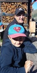 Günther mit Sohn Alexander